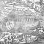 Bible Déluge Arche de Noé Licorne 1631